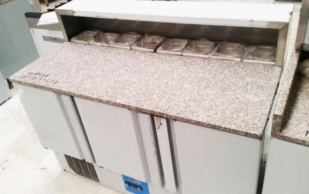 Bancada Industrial Refrigerada Pizzaria 390L NOVA
