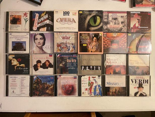 24 CD de Opera e Requiems