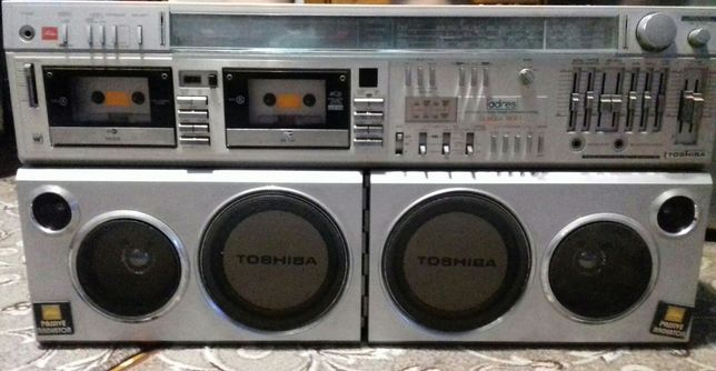 Винтажный аудиомагнитофон TOSHIBART-S983