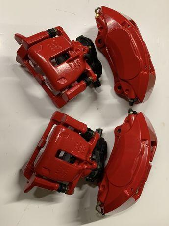 Zaciski Audi q5 a4 b8 a5 a6 a7 BREMBO 4 tłokowe