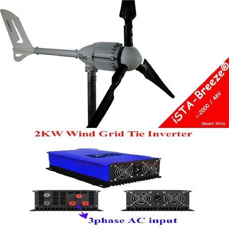 Kit aerogerador eólico i-2000 48V iSTA-BREEZE (on grid)