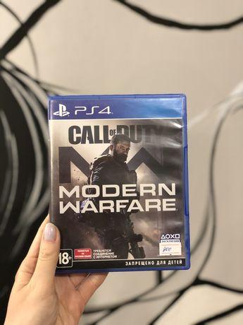 Диск PS Call fo Duty Modern Warfare