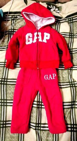 GAP, Adidas, тёплый костюм, на меху, комбинезон, 1,5-2,5 года