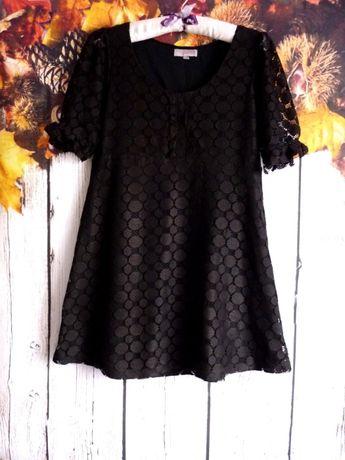 Asos Petite koronka mała czarna hot klasyka minimalizm S