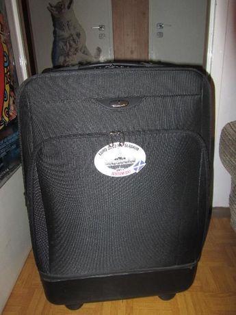 duża czarna walizka Puccini, 2 kółka