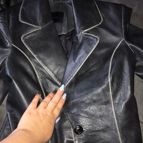 Кожаная куртка, пиджак в стиле balmain ,натуралка !!!в стиле balmain