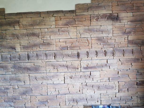 Kamien dekoracyjny kafle. Plytki piaskowiec 7m2