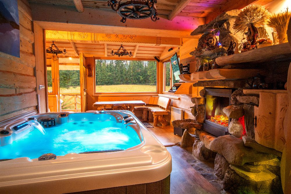 Prywatne SPA Jacuzzi i Sauna WEWNĄTRZ apartament, domek Zakopane Góry Zakopane - image 1