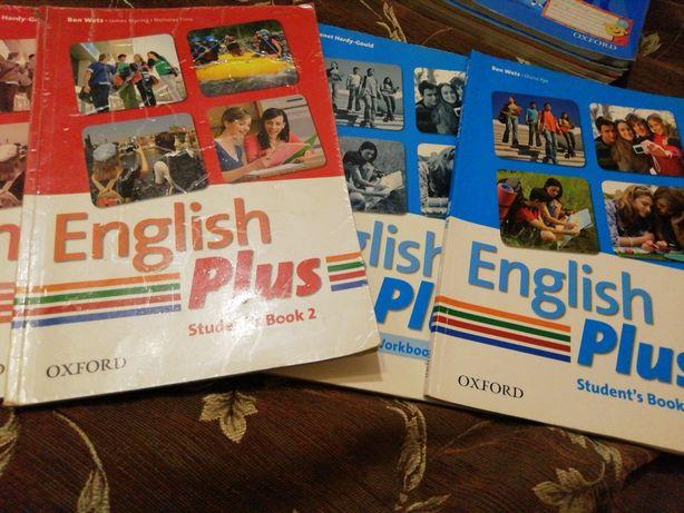 Книги,, English Plus,, 1,2 курсы