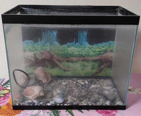 Продам аквариум на 38 литров