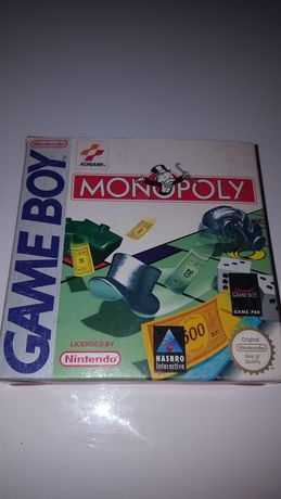 Gra oryginalna Monopoly Nintendo Game Boy Unikat