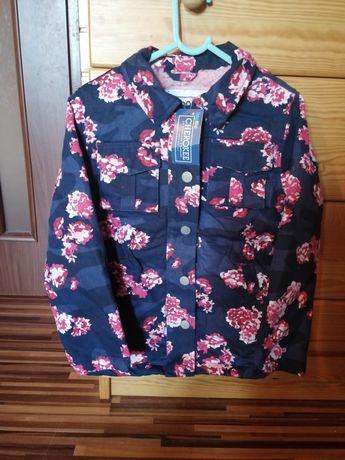 Nowa kurtka płaszczyk 116 zimowa