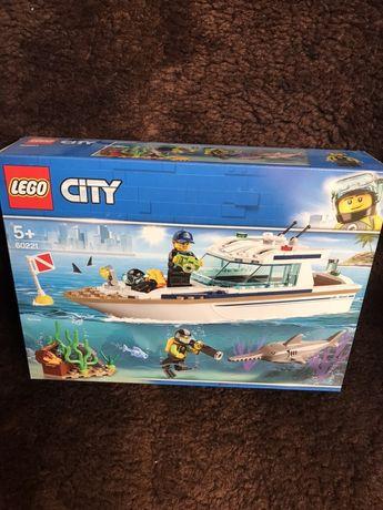 Lego 60221 City jacht super zestaw