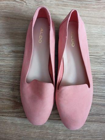 Buty baleriny czółenka ALDO skóra naturalna 38 39 25 cm