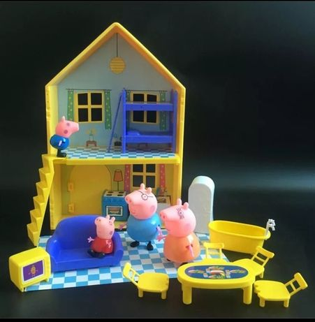 Peppa pig casa família