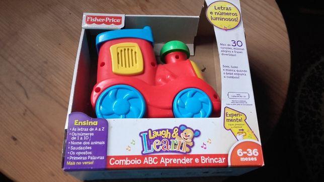 Comboio ABC Aprender a brincar