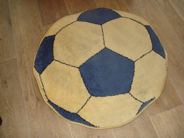 okrągły dywanik piłka