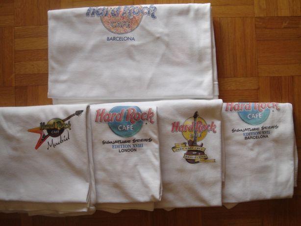T-Shirts HardRock Café - Edições Limitadas - L/XL