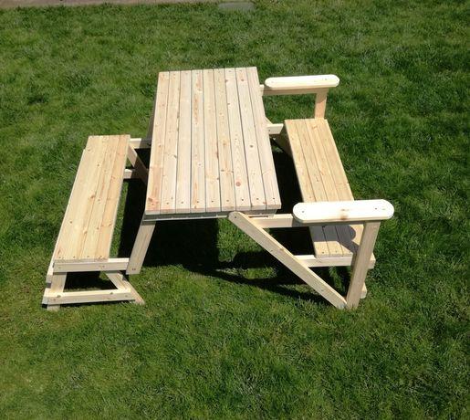 Ławko stół 2w1 ogrodowy
