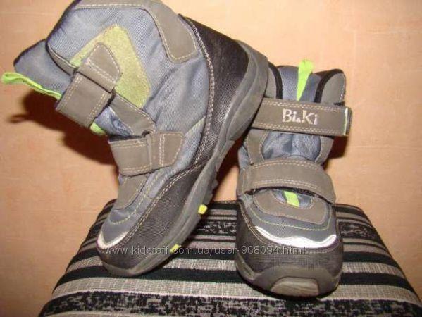 термо ботинки bi&ki 29р по стельке 18 см