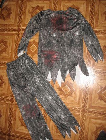 костюм на хэллоуин оборотня волка на 9-10 лет