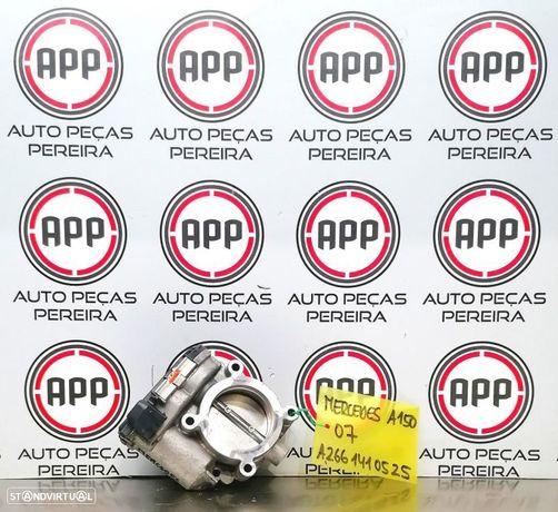 Borboleta de admissão Mercedes W169 A150 gasolina referência A2661410525.