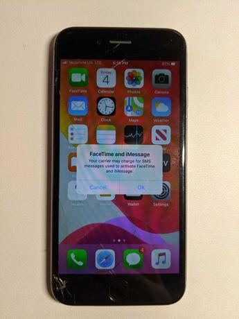 Apple Iphone 6s 64Gb Space Gray (neverlock, не работает сенсор)