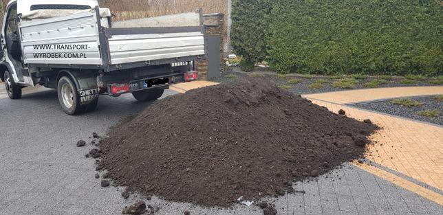 ZIEMIA wierzchnia OGRODOWA przesiewana czarnoziem torf kompost