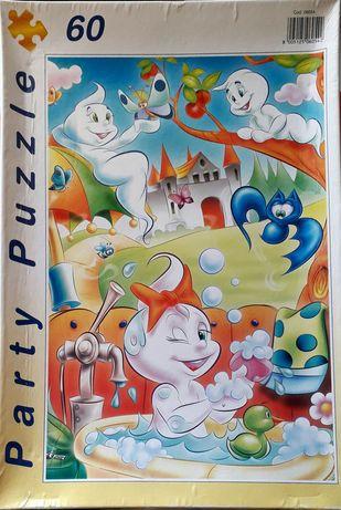 """Puzzles """"Clementoni"""" 60/100/200 peças"""