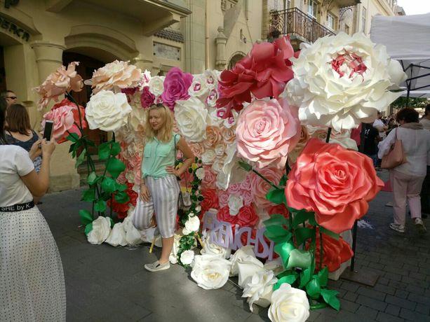 Арка, банер, Фотозона, квіти