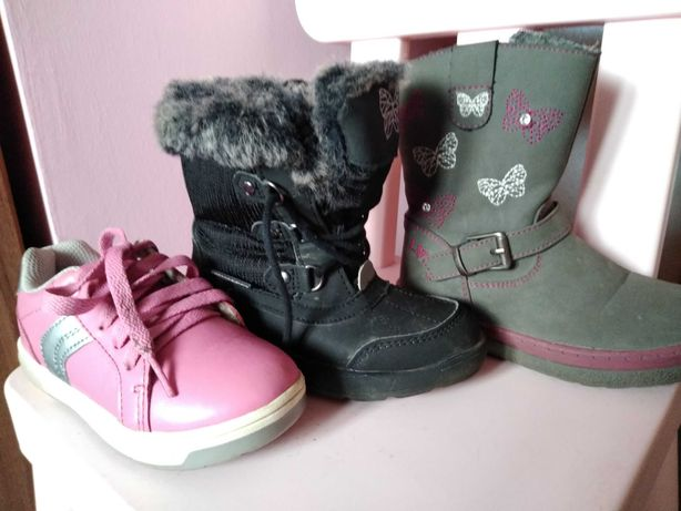 Buty dziewczęce rozmiar 25 i 26