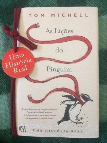 """Livro """"As Lições do Pinguim"""", Tom Michell, novo"""