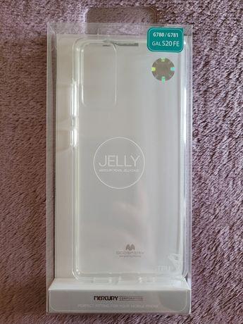 Etui Samsung Galaxy S20 FE Mercury Goospery przeźroczyste nowe S20FE