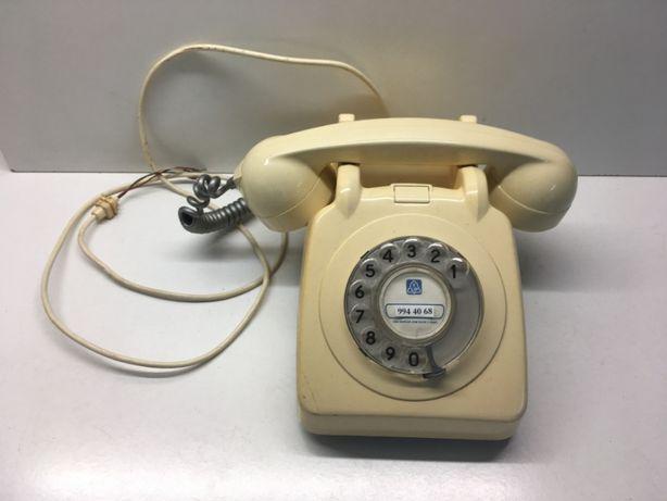 Telefone Antigo Bege / Creme