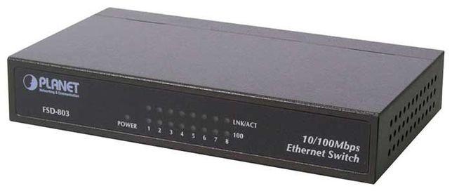Коммутатор неуправляемый Fast Ethernet Planet FSD-803