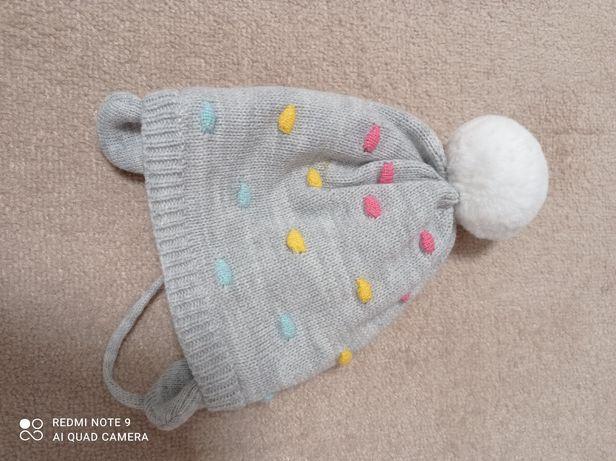 Nowa czapeczka 3-6 miesięcy