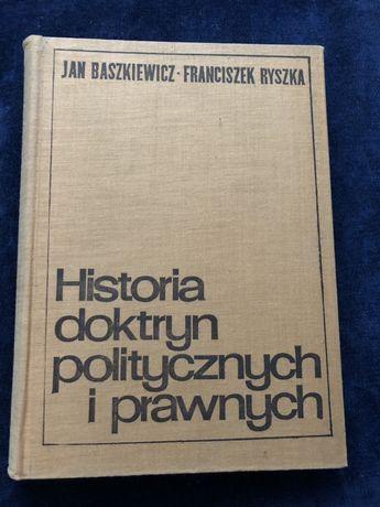 Historia Doktryn Politycznych i Prawnych Ryszka, Baszkiewicz