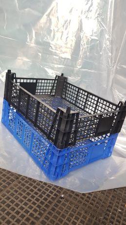 Skrzynka plastikowa koszyk pojemnik n pieczarki owoce warzywa 40x30x11