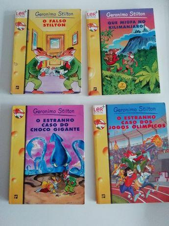 Livros Gerónimo Stilton Editorial Presença