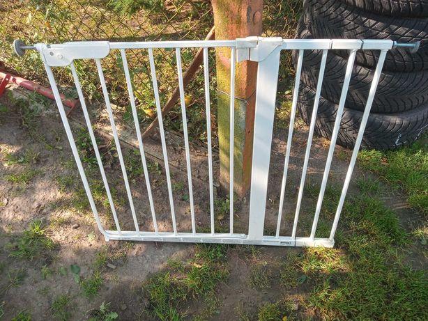 Bramka,barierka zabezpieczajaca dla dzieci metalowa 5 sztuk