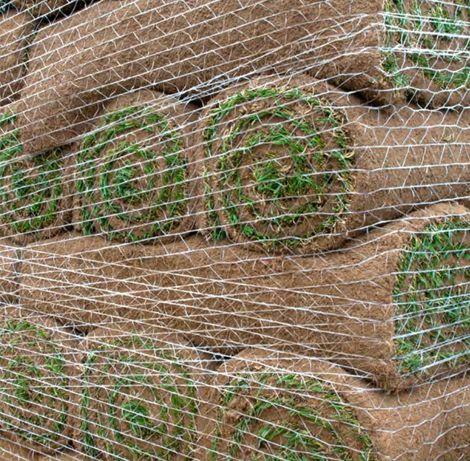Siatka do owijania zabezpieczania paletyzacji trawy w rolce z rolki
