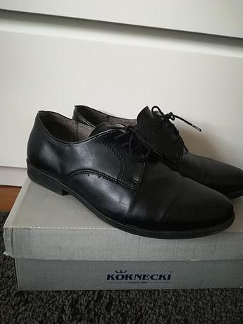 -70% Kornecki buty r. 35 garniturowe skóra naturalna komunijne