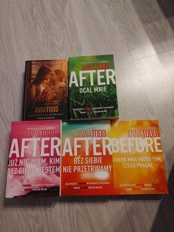After, 5 książek w bardzo dobrym stanie.