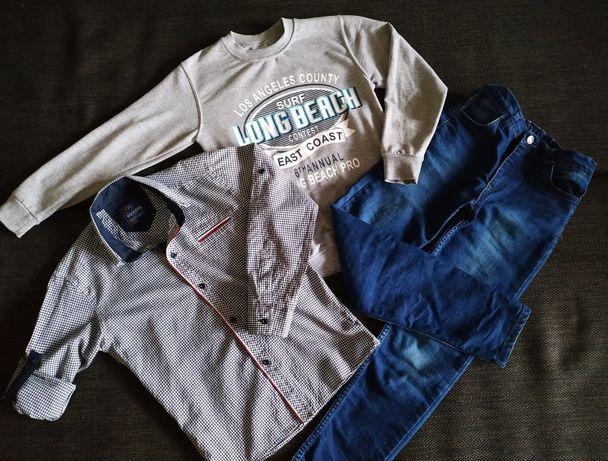 Вещи на мальчика (реглан, рубашка)