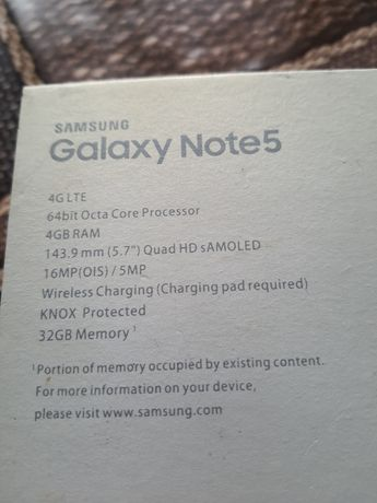 Galaxy Note 5 НА ЗАПЧАСТИ