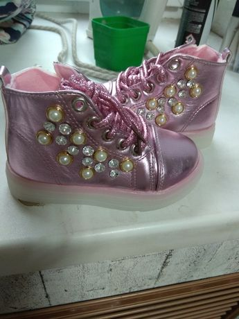Ботинки деми для девочки
