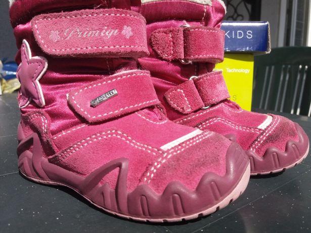 Zimowe buty Primigi kozaczki kozaki rozmiar 22