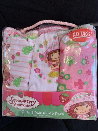 Новый набор трусиков Strawberry на девочку 6-8 лет