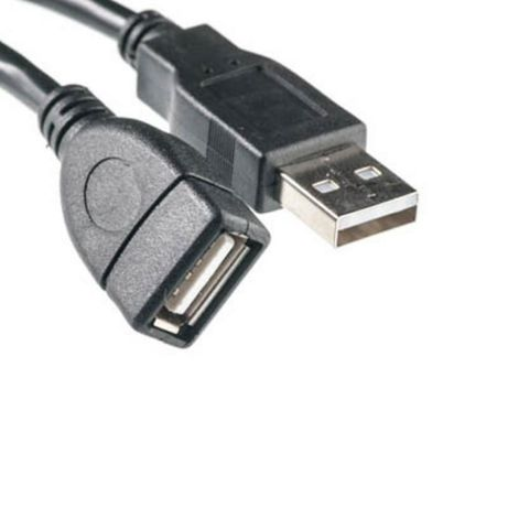 Кабель USB 2.0 вилка - розетка переходник удлинитель провод