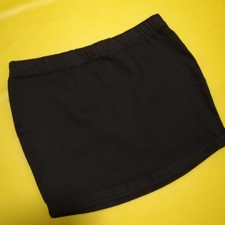 Чёрная юбка Page one мини H&M Zara новая